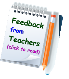Feedback from Teachers (click to read)